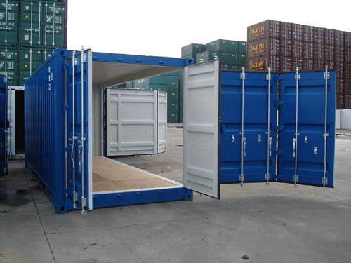 контейнер с открытым боком