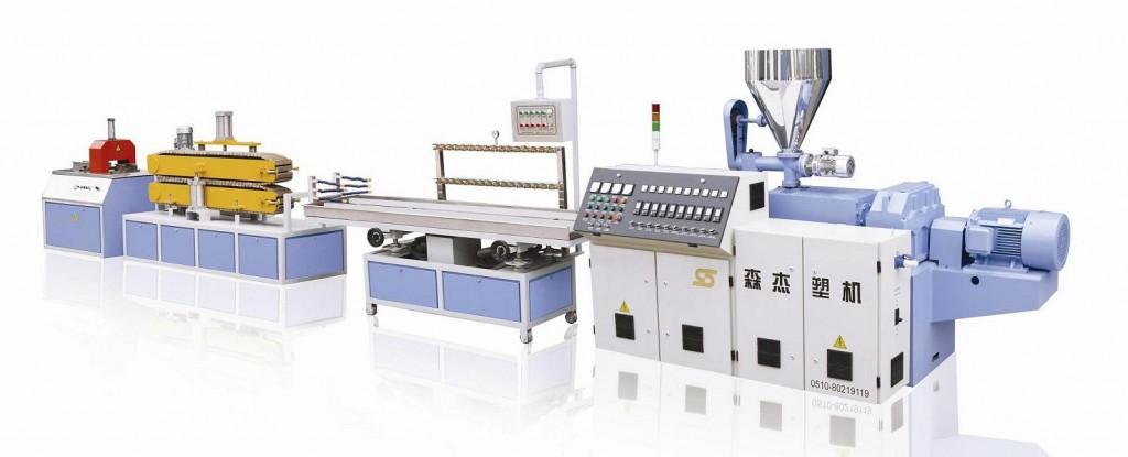 Production-Line-of-PVC-Profile-YF200-